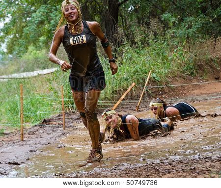 Mud Run Race