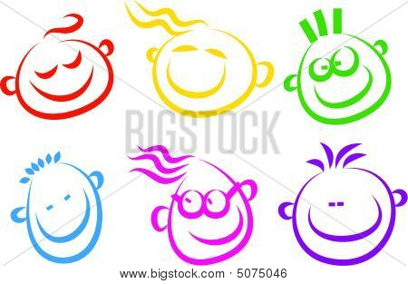 Happy Face Icons