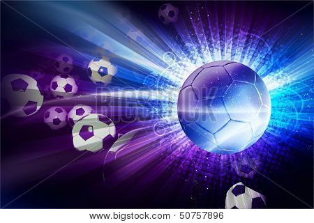 Euro Football Illustration