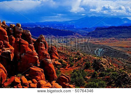 Arches National Park Fiery Furnace