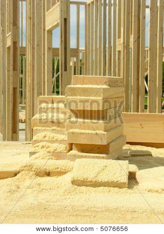 Sawdust And Wood