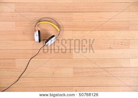 Headphones On The Floor