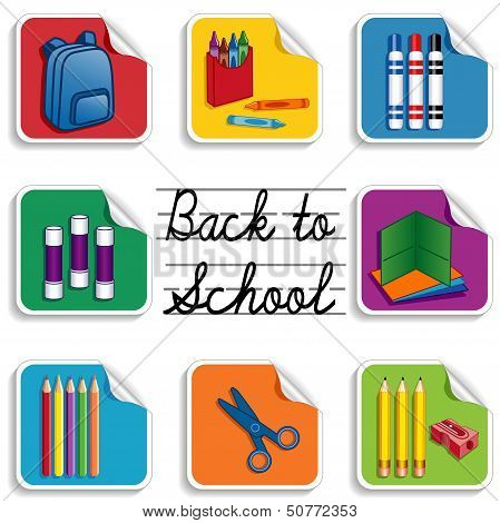 Back To School Stickers