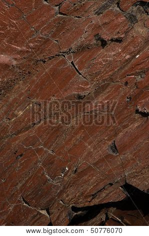 Rock With Organic Brown Texture