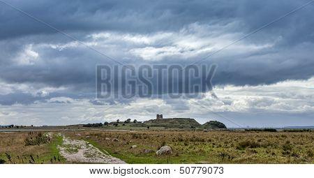 Kalo Castle Ruin In Mols, Denmark