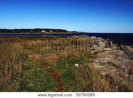 Dirt Path To The Ocean