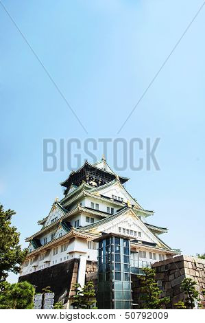 Osaka Castle Over View