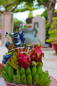 Exotic fruits in Vietnam
