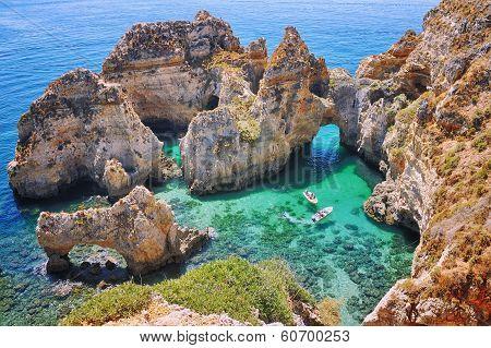 Rocks In Algrave, Portugal
