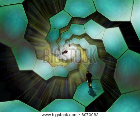 Walking On Cells