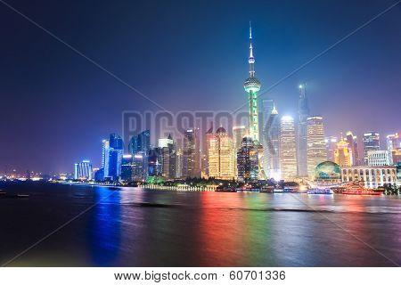 Beautiful Shanghai Night Scene
