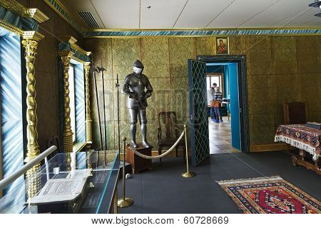Room Of Great Wooden Palace In Kolomenskoe