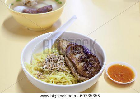 Singapore Yong Tau Foo Noodles