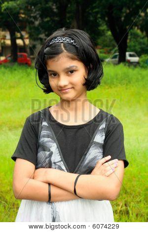 Moderne indische Mädchen