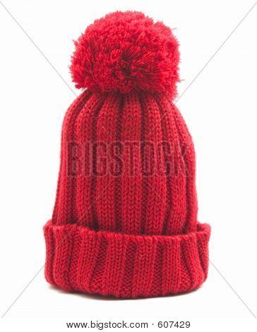 Woolen Red Cap