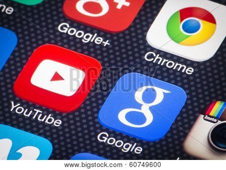 Google social media apps
