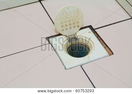Dirty Floor Drain