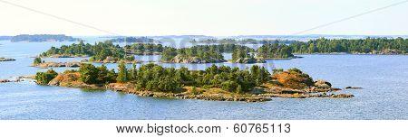 Aland Islands Archipelago.