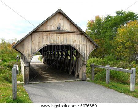 Pathway Covered Bridge