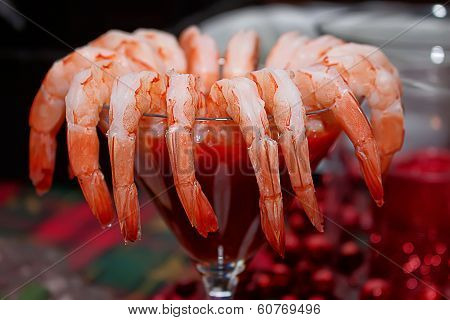 Fresh Organic Shrimp Cocktail