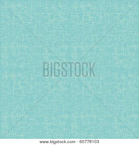 vector turquoise abstract canvas background or grid pattern linen blue texture poster