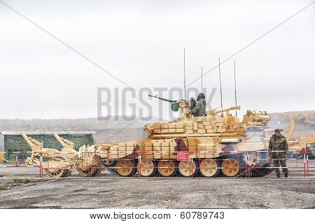 Armoured deminer BMR-3M (Russia)