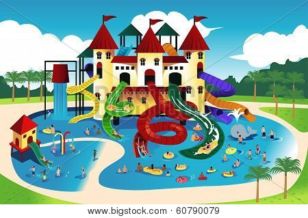 People Going To Water Park