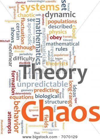 Chaos Theory Word Cloud