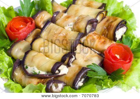 Many Stuffed Eggplant