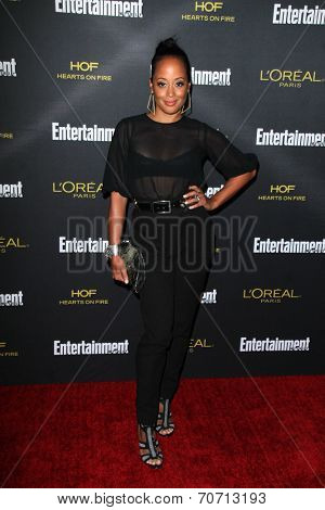 LOS ANGELES - AUG 23:  Essence Atkins at the 2014 Entertainment Weekly Pre-Emmy Party at Fig & Olive on August 23, 2014 in West Hollywood, CA