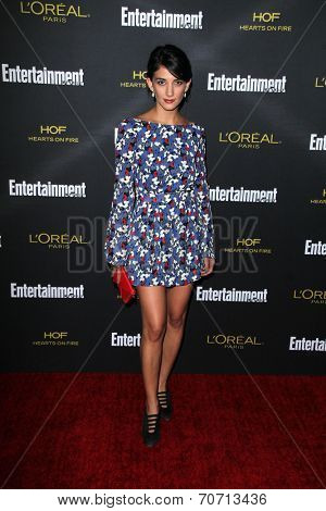 LOS ANGELES - AUG 23:  Sheila Vand at the 2014 Entertainment Weekly Pre-Emmy Party at Fig & Olive on August 23, 2014 in West Hollywood, CA