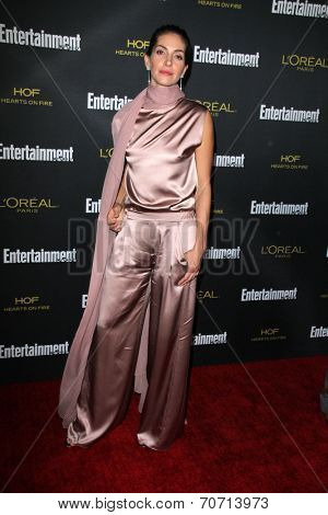 LOS ANGELES - AUG 23:  Dawn Olivieri at the 2014 Entertainment Weekly Pre-Emmy Party at Fig & Olive on August 23, 2014 in West Hollywood, CA