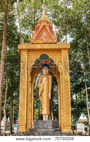 Khmer Buddha statue