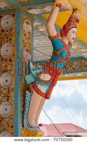 Khmer Statue decoration