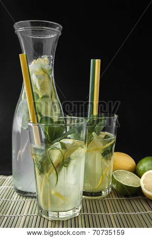 Lime And Lemon Drink