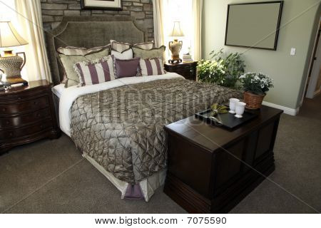 Designer bedroom