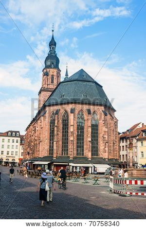 Church Of The Holy Spirit In Heidelberg