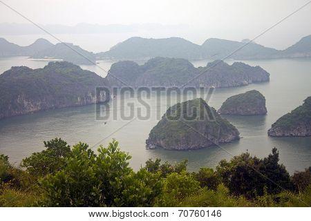 Panorama of islands