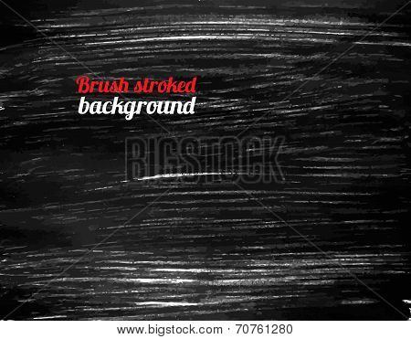 Painted Black Vector Background