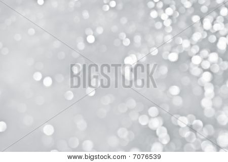 Snow Defocused background. Smooth area in left portion for copy space. poster