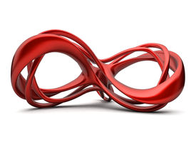 Red infinite construction