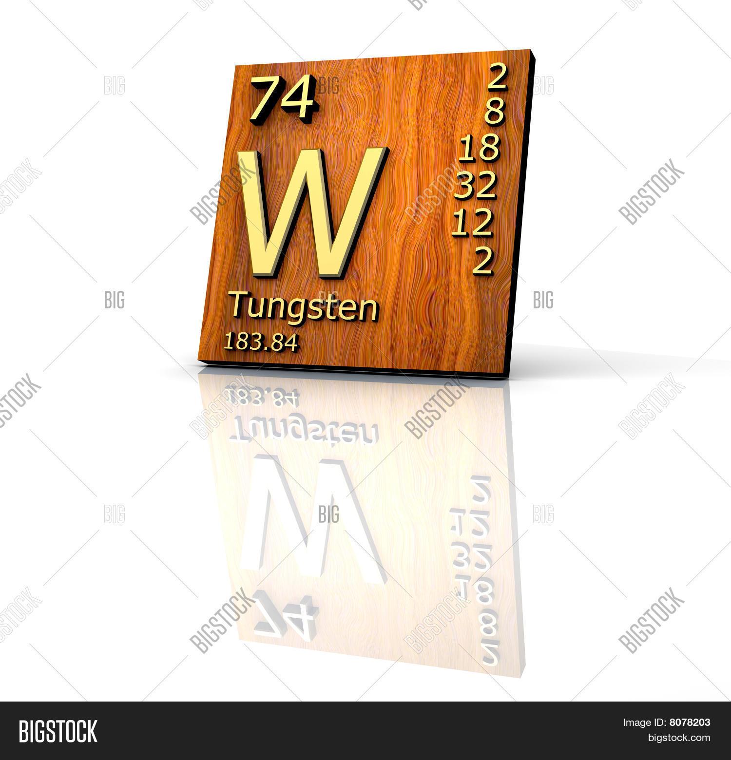 Tungsten Form Periodic Image Photo Free Trial Bigstock