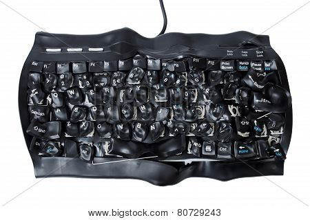 Burned Keyboard