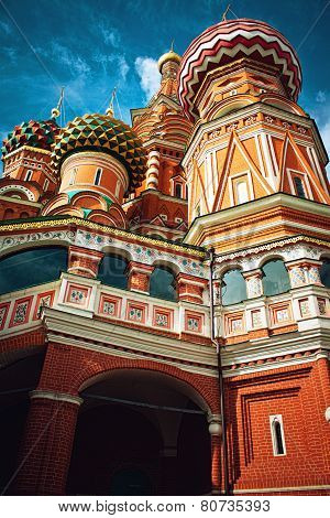 St Basil's Church In Moscow