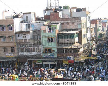 Delhi old city