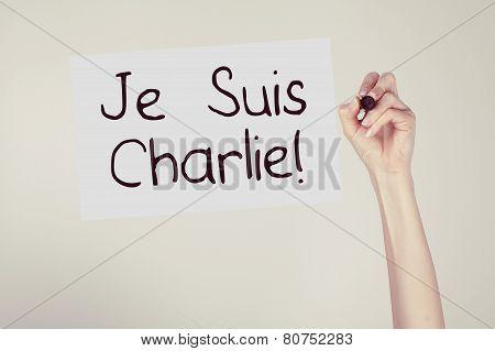 I am Charlie for Charlie Hebdo