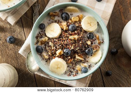 Organic Breakfast Quinoa With Nuts