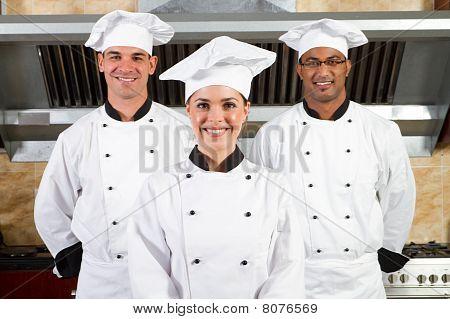 profesionales de la cocina