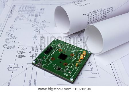 Printed Circuit Board,circuit Diagram,software,semiconductor,chip