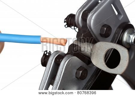 Tool For Crimping Electrical Cables